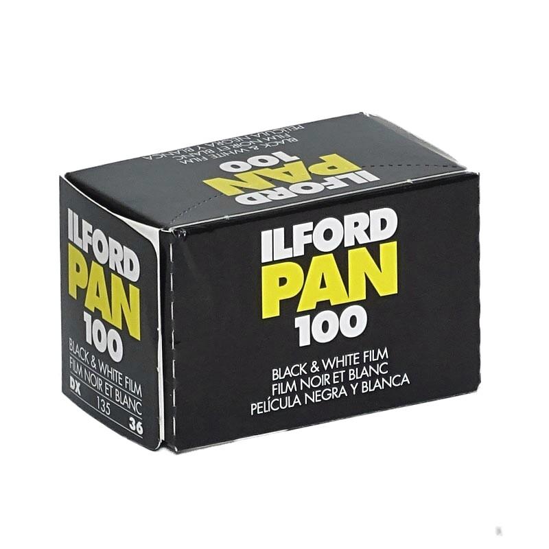 ILFORD Pan 100 Schwarzweißfilm, 135-36