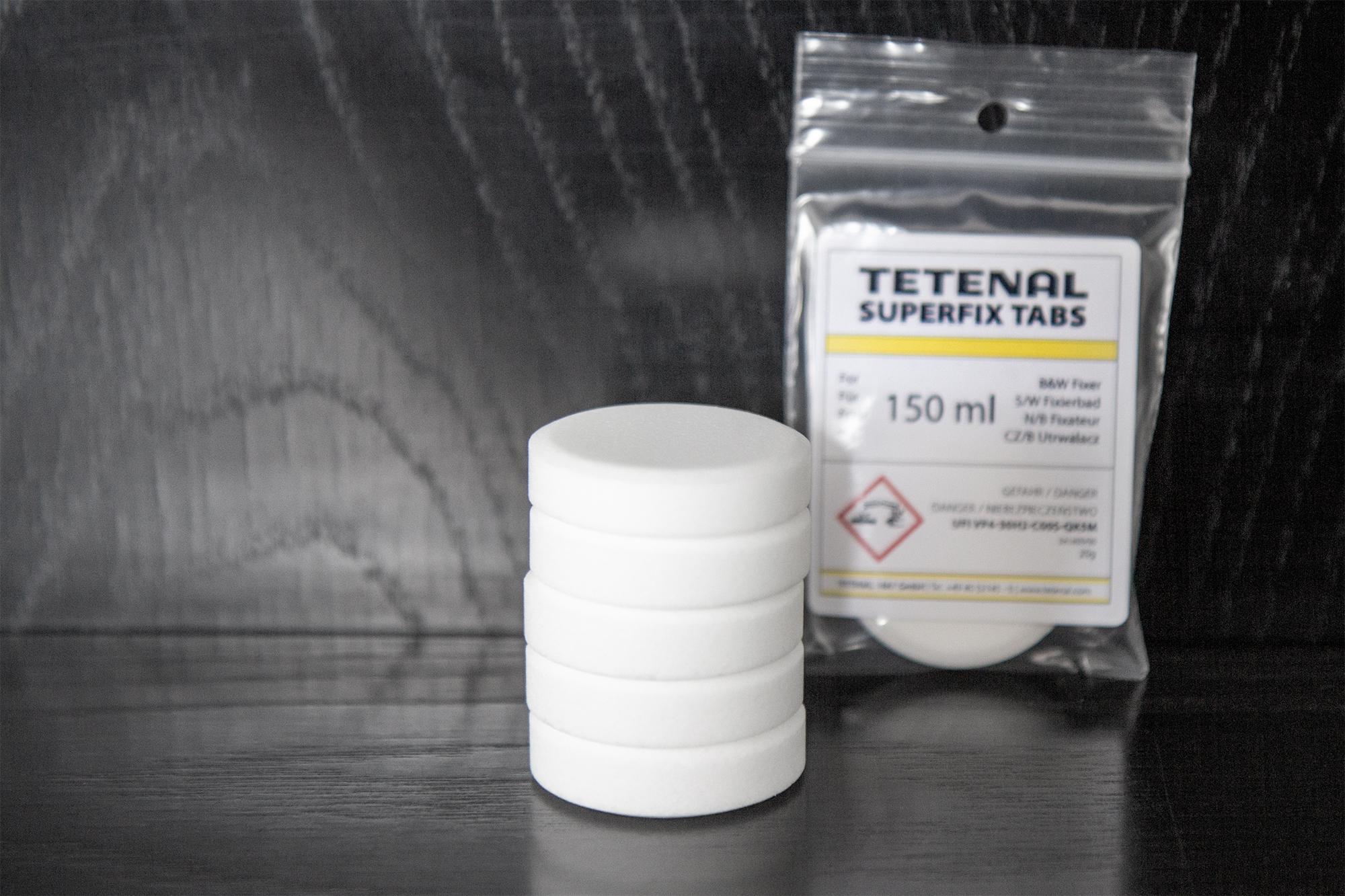 SUPERFIX Tabs S/W Fixierbad in Tablettenform für Film und Papier