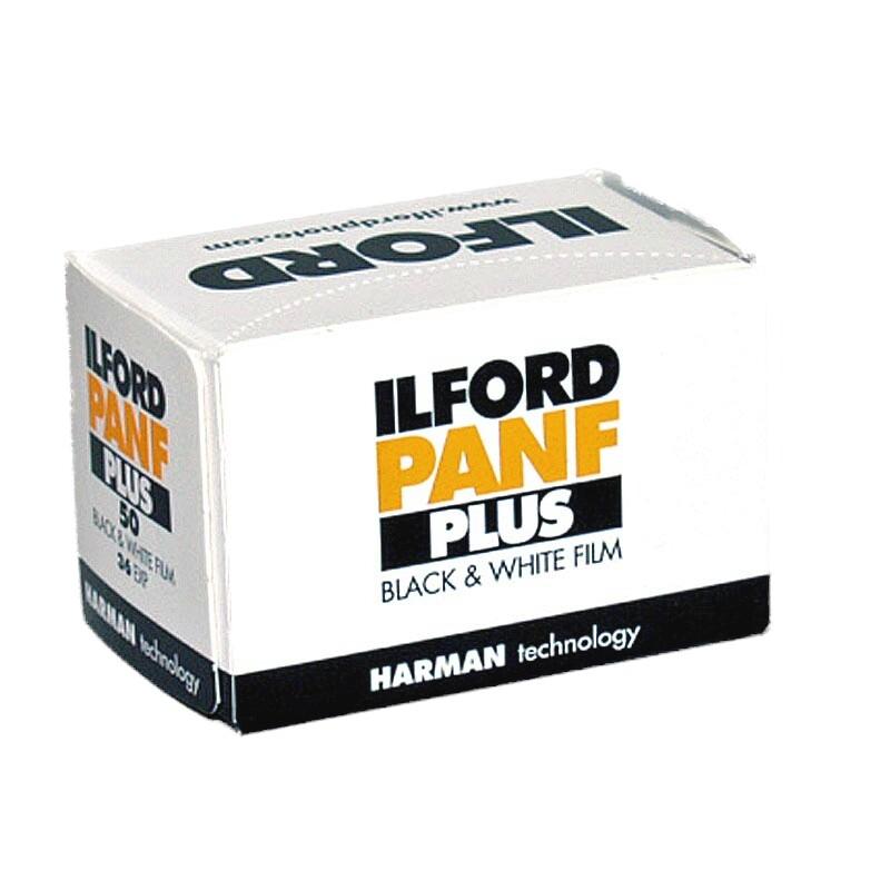 ILFORD Pan F Plus 50 Schwarzweißfilm, 135-36
