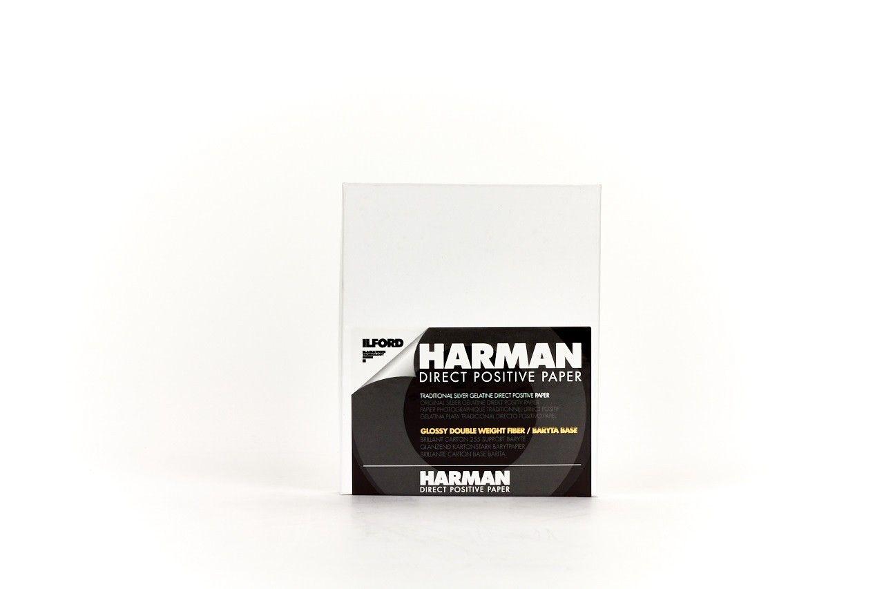 """Harman Direct Positive FB glänzend 4 x 5"""", 25 Blatt"""