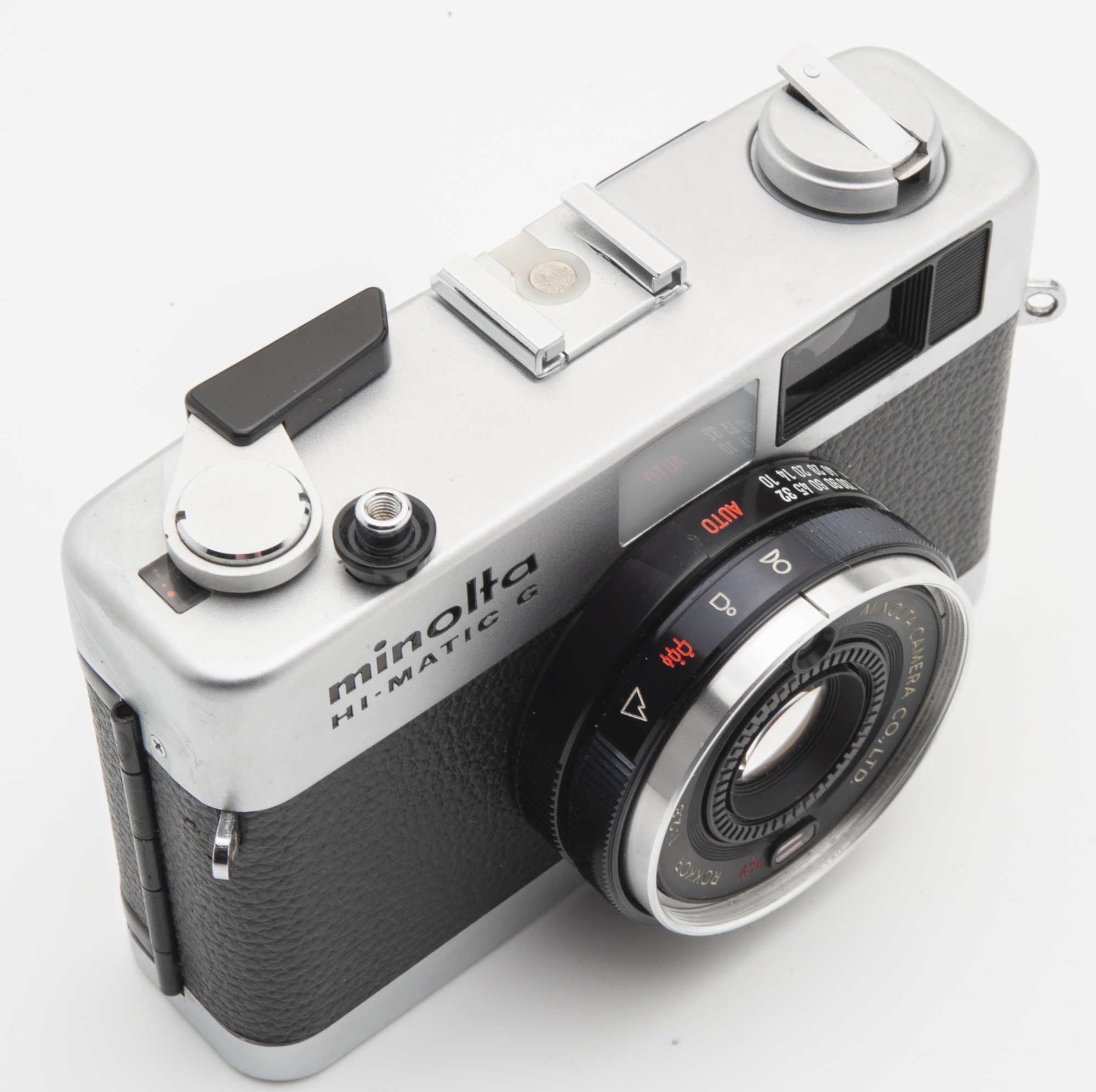 Minolta Hi-Matic G Kamera Sucherkamera - Rokkor 38mm 1:2.8 Optik