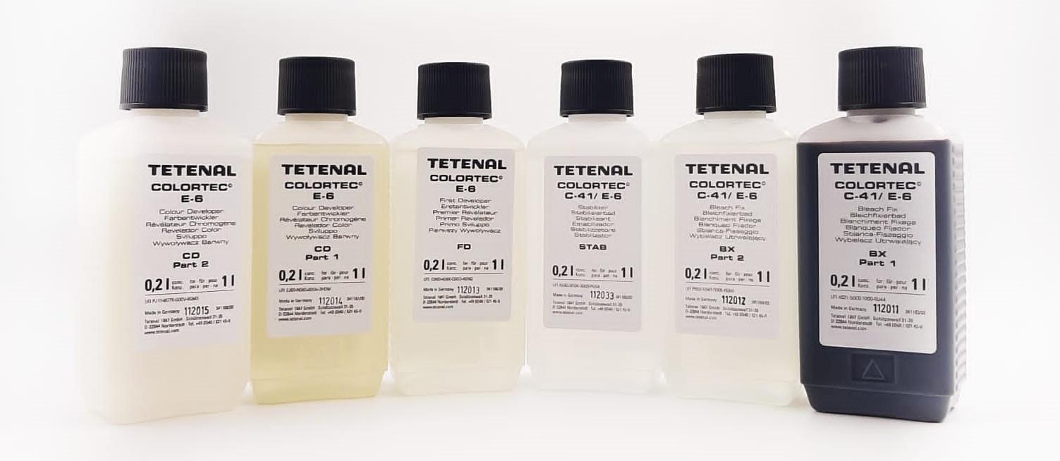 Colortec ® E-6 3-Bad Kit für 1 l