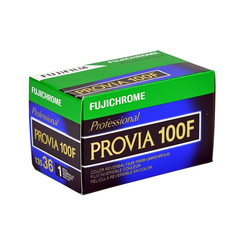 Fuji Provia 100 F Professional medium-speed color reversal film