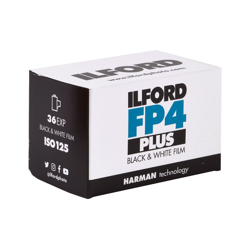 ILFORD FP4 Plus 125 Black and White Film, 135-36