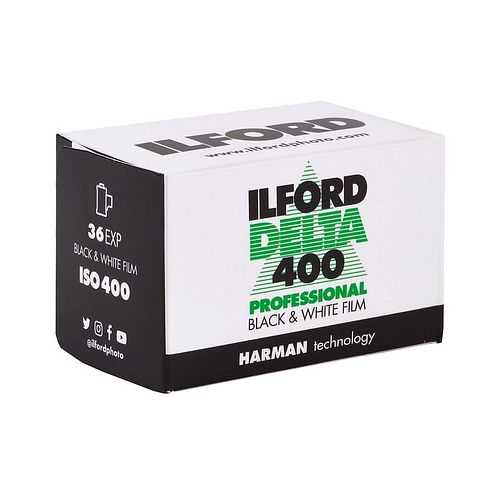 ILFORD Delta 400 Black and White Film, 135-36
