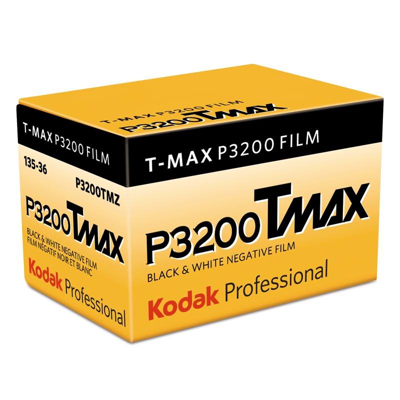 KODAK T-Max P3200 (TMZ) Schwarzweißfilm, 135-36