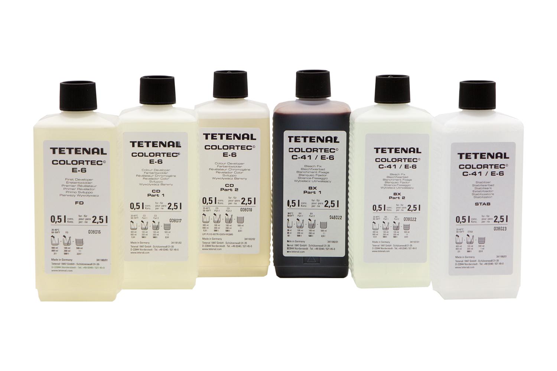 Colortec ® E-6 3-Bad Kit für 2,5 l