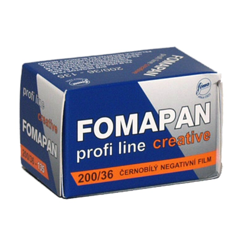 FOMA Fomapan Creative 200 black and white film, 135-36
