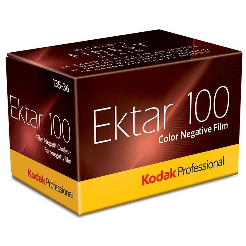 KODAK Ektar 100 professional negative color film, 135-36