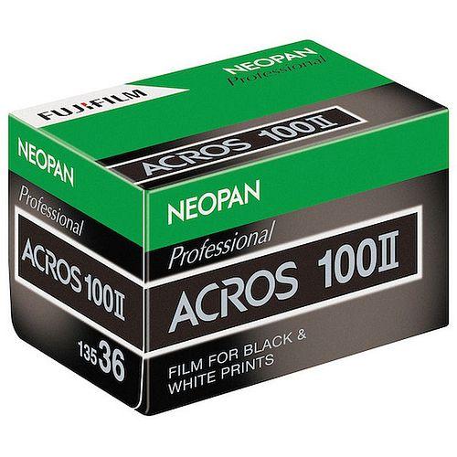 FUJI Neopan Acros 100 II Schwarzweißfilm, 135-36