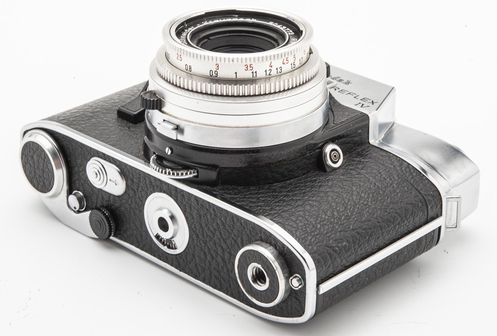 Kodak Retina Reflex IV analoge Spiegelreflexkamera - Schneider Xenar 2.8 50mm