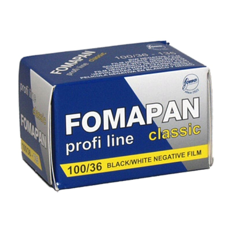 FOMA Fomapan Classic 100 Black and White Film, 135-36