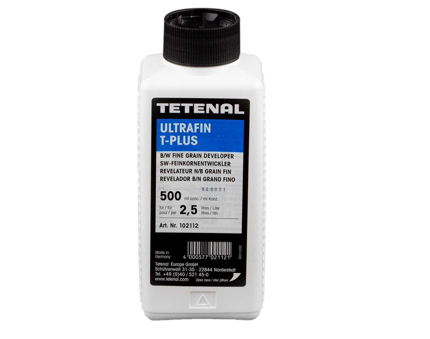 TETENAL Ultrafin T-Plus 0,5 l