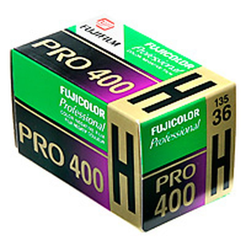 FUJI Pro 400 H negative color film